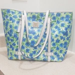 Dooney & Bourke authentic 1975 pansy tote
